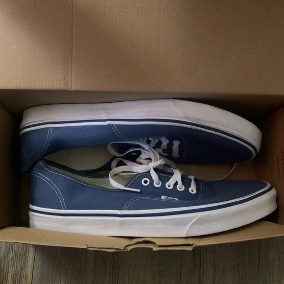 Vans Shoes | Size 3 Blue Vans | Poshmark